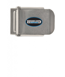 Highland Inox weightbeltbuckle