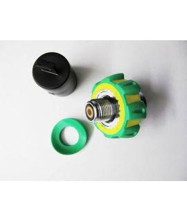Connector-Nut M26/2 Handwheel Oxygen