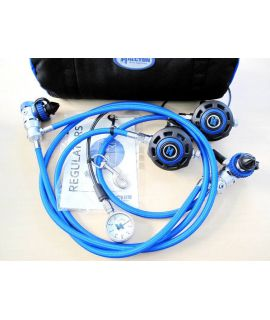 Halcyon Regulator Twinset H75P / Helo