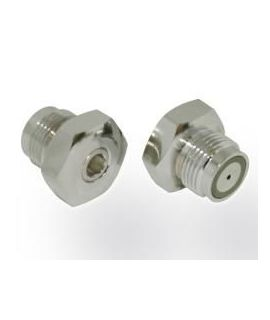 Valve Blind Plug DIN 230 bar with bleed screw