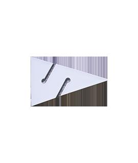 Leinen Pfeil Weiss, 90mm