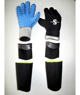 Deepstop-Neopren-Handschuhsystem
