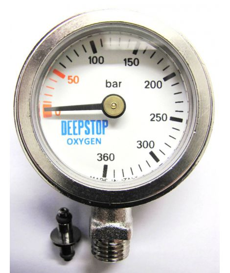 DEEPSTOP Manometer 300 bar EXTREME