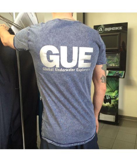 GUE T-Shirt Blue Denim