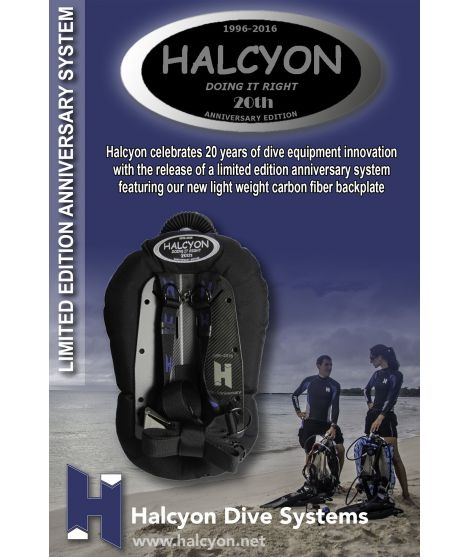 Halcyon-20 Jahre Jubiläums Edition Carbon