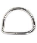 D-Ring Inox 45°