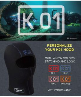 PERSONALIZE YOUR K01 HOOD - 5mm / 8mm