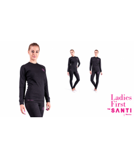 SANTI Merino-Leggins Ladies First