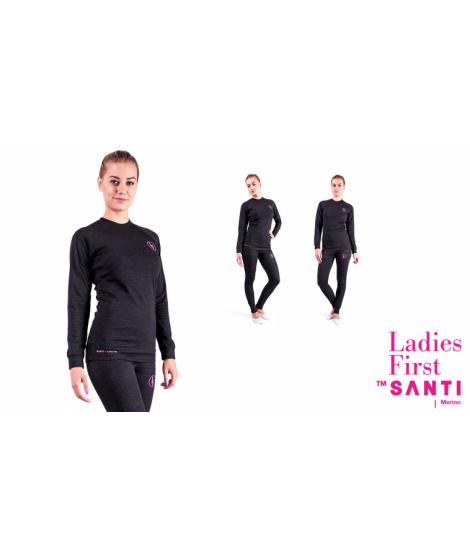 SANTI Merino-Leggins Ladies First