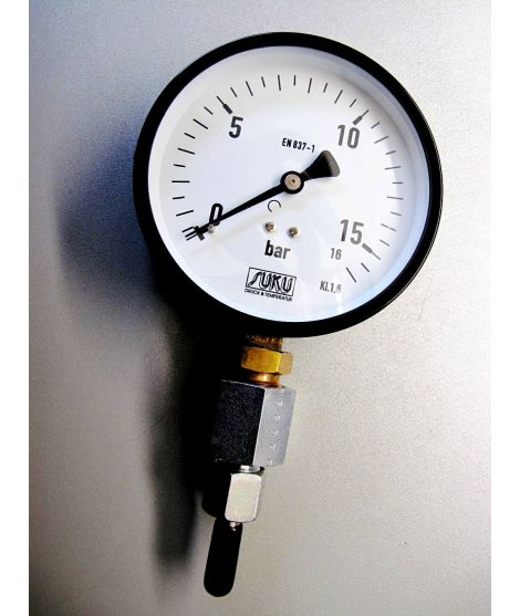 Präzisions-Mitteldruck-Manometer GROSS