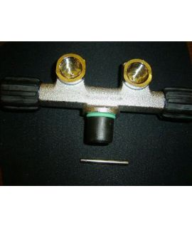 Scubatec Twinvalve for Singletanks, fix
