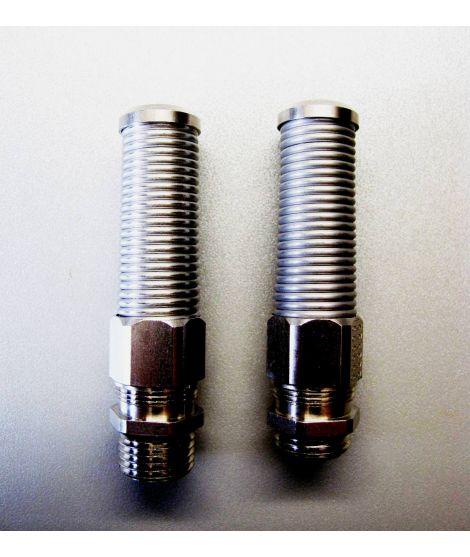 Kabeldurchführung mit Knickschutz Metall