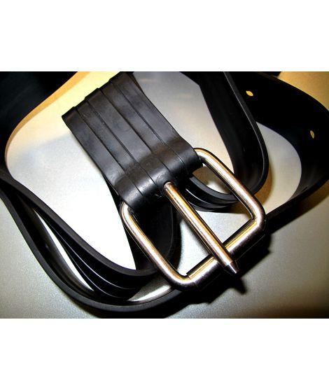 Rubber weightbelt
