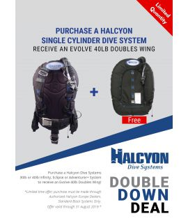 Halcyon / Deepstop Double Down Set
