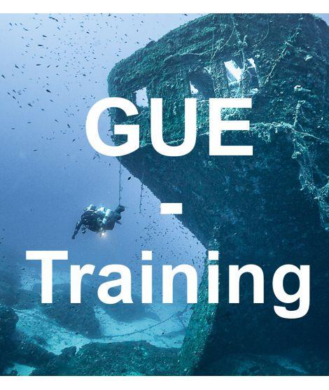 GUE Trainingdive - 1/2 day