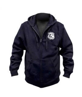GUE Navy Zipper Hoodie - EU Version