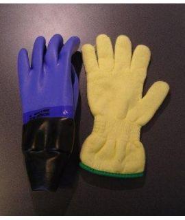 Trockenhandschuhe Nordic Blue