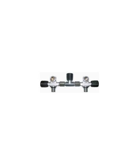 Scubatec Oxygenclean Twintank-valve set