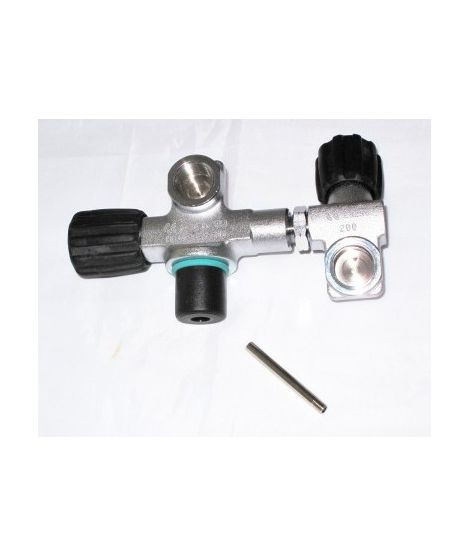 Scubatec Valve with 2nd outlet