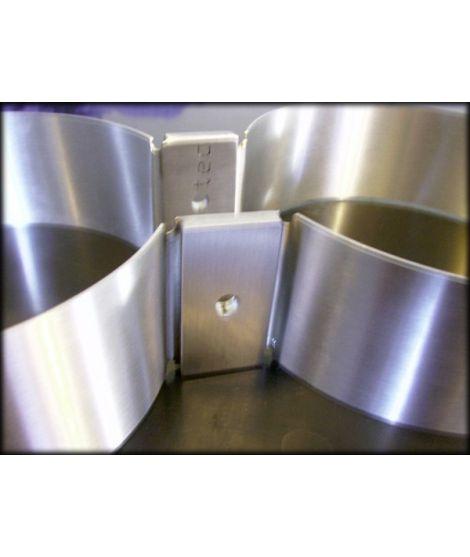 V4tec Edelstahlschellen für Doppel-Alu 80cft