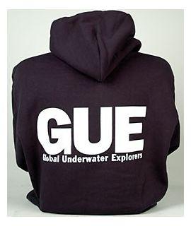 GUE Navy Zipper Hoodie