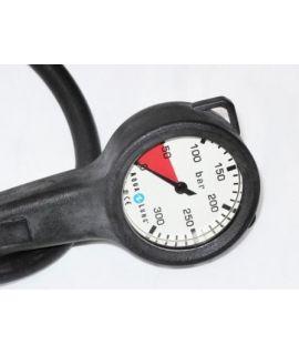 Manometer Metall 200 bar mit Schlauch