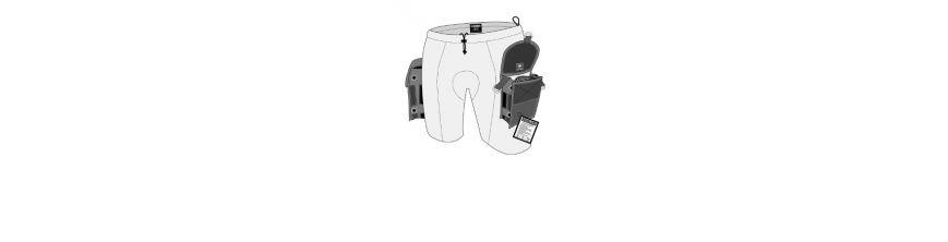 Neopren Cargo Shorts