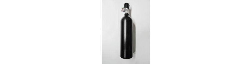 Argon-Alu-Flaschen
