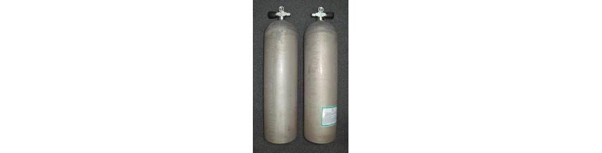 Sidemount Flaschen