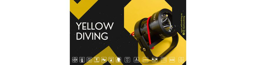 Yellow Diving Lights