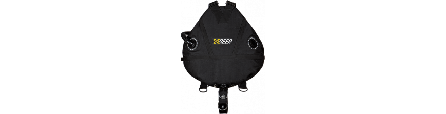 X-DEEP  Sidemount-Wings